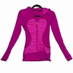 Lululemon Pure Balance Jacket Paris Pink Size 4